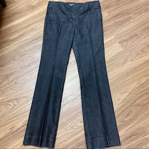 Kenneth Cole Reaction Low Rise, wide leg jeans